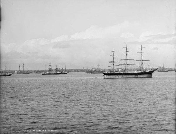 Pensacola Harbor 1902