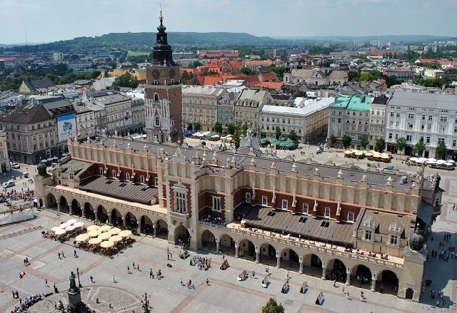 Plaza mercado Cracovia