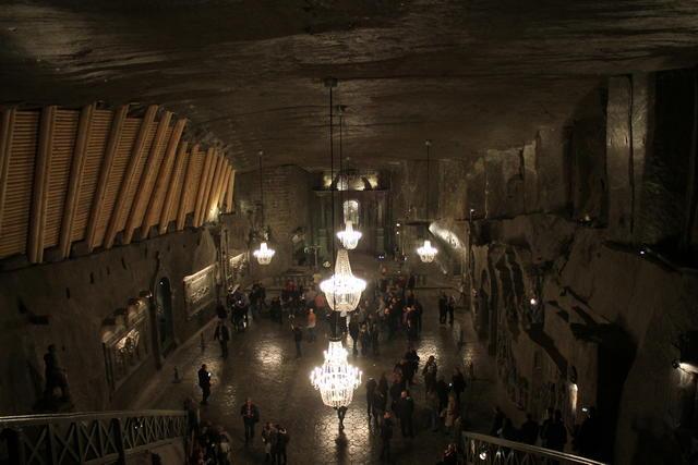 excursión a las Minas de Sal de Wieliczka en Español