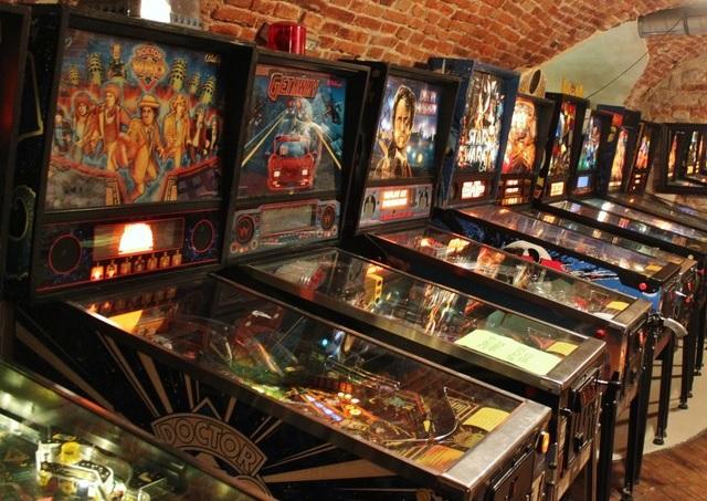 Museo del pinball de Cracovia