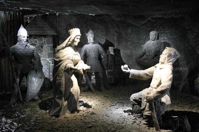 Visitar las Minas de Sal de Wieliczka desde Cracovia