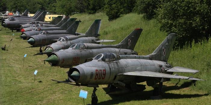 Museo aviación Cracovia