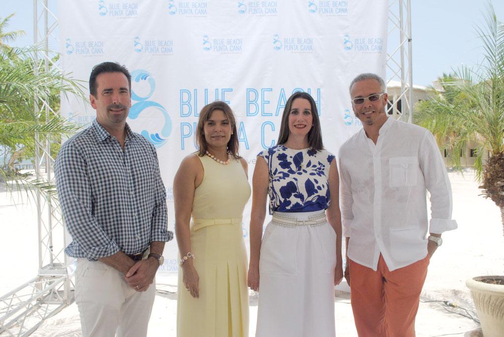 Steven Ankrom, Tania Castillo, Rosa Rodríguez y Daniel Pons