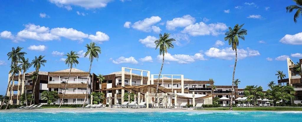 Previsualización digital del proyecto Blue Beach Punta Cana