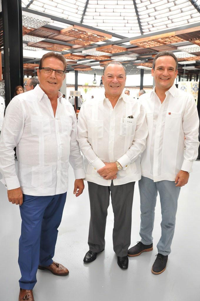 Francisco Martínez, Frank Rainieri y Alvaro Peña