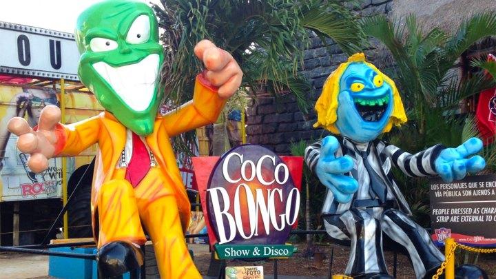 La entrada al Coco Bongo Show & Disco