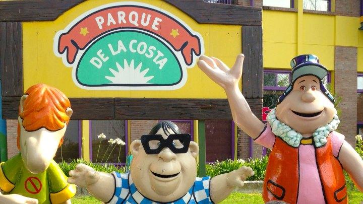 Los personajes originales del Parque de la Costa
