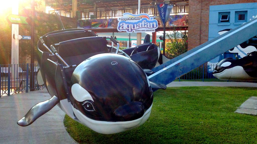 Las Orcas Voladoras en el Parque de la Costa