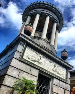 Mausoleo en el Cementerio de Recoleta en Buenos Aires, Argentina