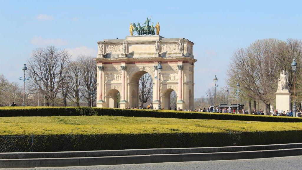 Arc de Triomphe du Carrousel, Musée du Louvre