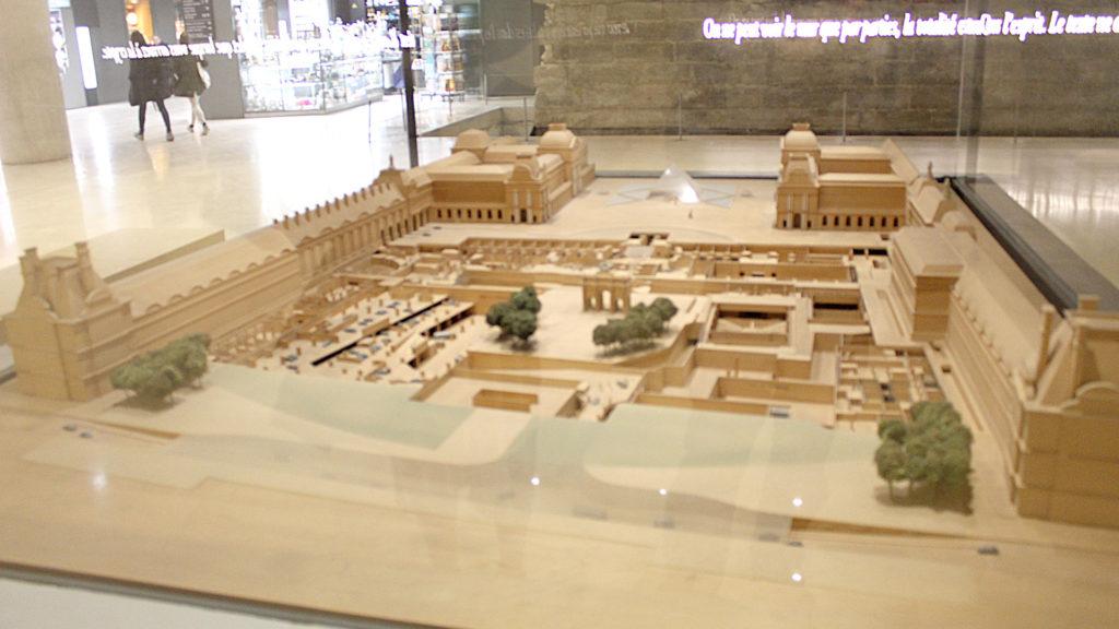 Maquette, Musée du Louvre