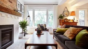 Propiedad con sala en Toronto, Ontario, Canadá disponible en Airbnb