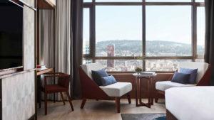 Habitación del Nobu Hotel Barcelona (Foto: Nobu Hotels)