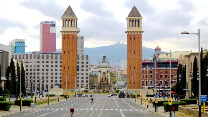 Torres Venecianas. Barcelona