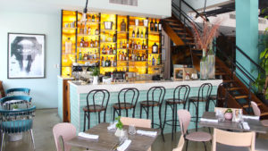 Interior de la sucursal Carne & Co. de Bella Vista, Santo Domingo