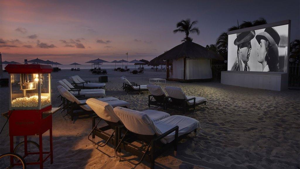Cine bajo las estrellas (Foto: Bucuti & Tara Beach Resort)