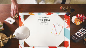 Taco Bell Hotel Desk. (Source: Taco Bell.)