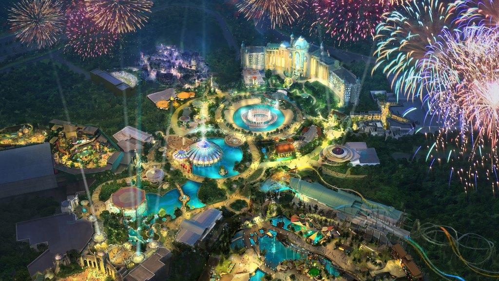 Una previsualización del parque temático Universal's Epic Universe en Orlando (Foto: Universal Studios)