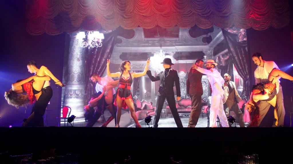 """Número en el burdel de """"Magia!"""", el espectáculo de Madero Tango"""