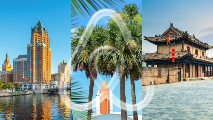 Milwaukee, Wisconsin; Cabo Cañaveral, Florida; y Xi'an, China son tres de los Top 20 destinos tendencia para 2020, basado en las reservas registradas en su plataforma de viajeros (Fotos: Airbnb)