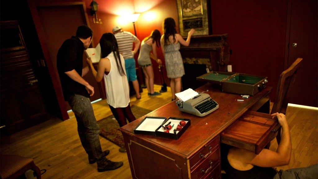 Las salas de escape son opciones de entretenimiento populares que encajan a la perfección con la Noche de Año Nuevo
