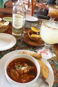 Almuerzo en La Parrilla Cancún