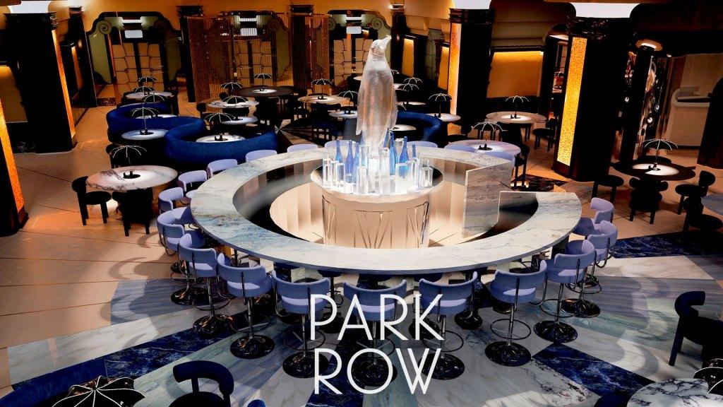 El Iceberg Lounge de Park Row, restaurante inspirado en la Ciudad Gótica de los cómics de Batman (Foto: Wonderland Restaurants) | Iceberg Lounge at Park Row, a restaurant inspired by Gotham City from the Batman comics (Source: Wonderland Restaurants)