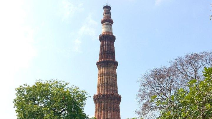 Minarete Qutub Minar, Delhi, India