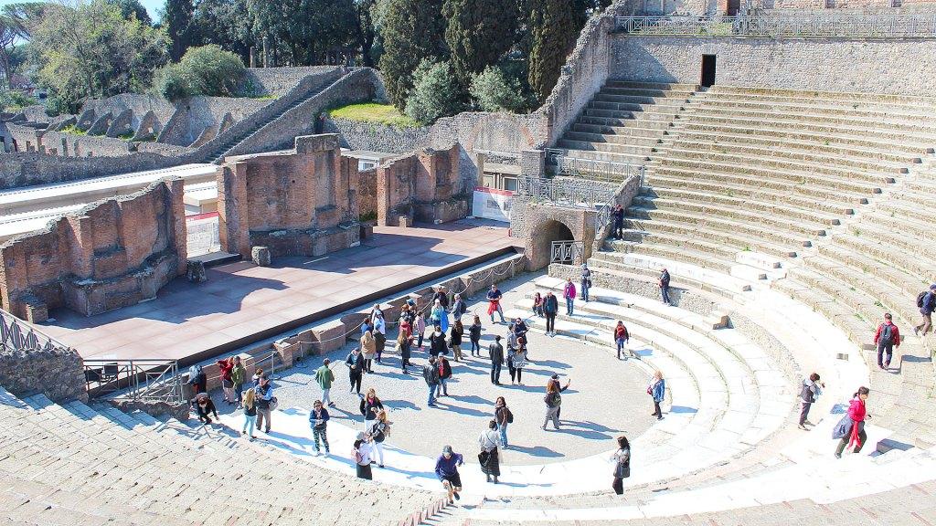 Teatro Ggrande Pompeya | Pompeii