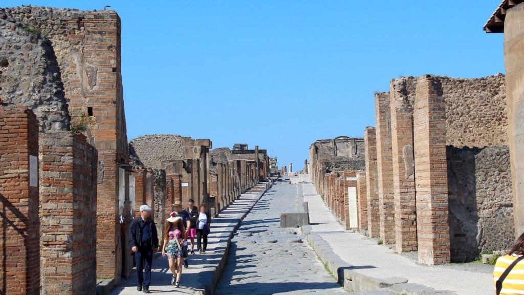 Calle Pompeya | Pompeii Street