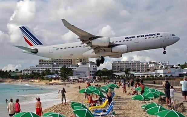 Aeroporto Internacional Princesa Juliana – Ilha de são Martinho