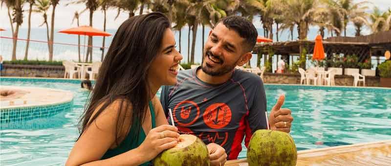Muita alegria nos Resorts da Rede Beach Park