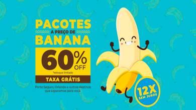 Viajar a preço de banana?