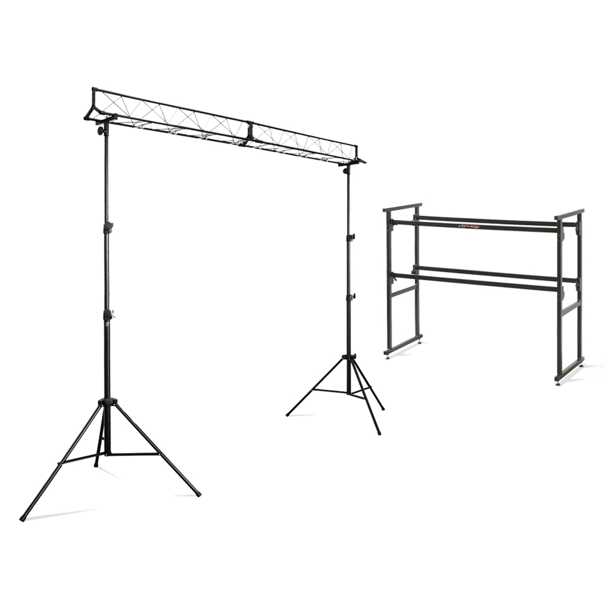 Ekho 4ft Mobile Dj Deck Stand Lighting Trussing Kit