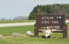 Goal: Take a picture with every state park sign and make a blanket out of all of the pictures!
