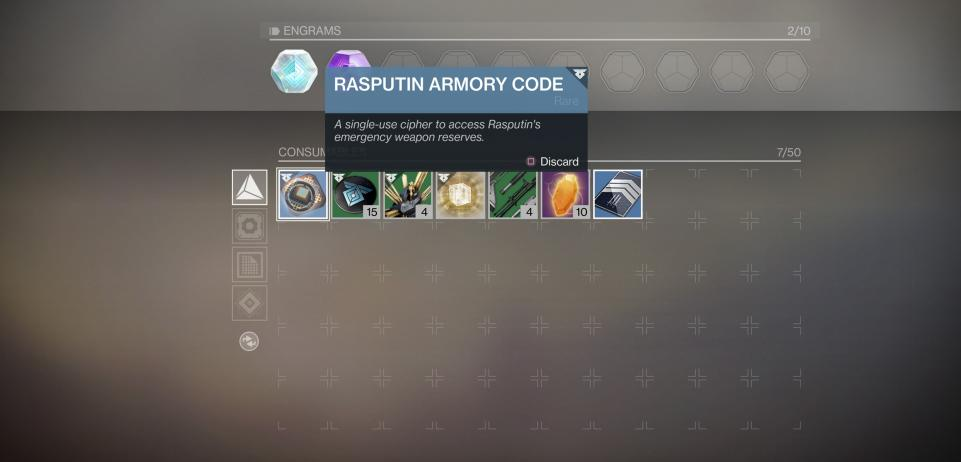 destiny 2 rasputin armory codes how to find use in escalation