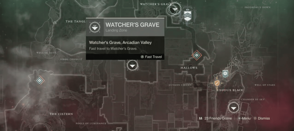 Destiny 2' Xur Inventory & Location Nov  2 - Vigilance Wing