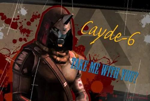 Character Bio – Cayde-6