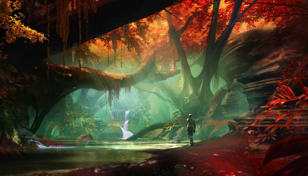 The Incredible Interior Of Nessus In Destiny 2 Concept Art