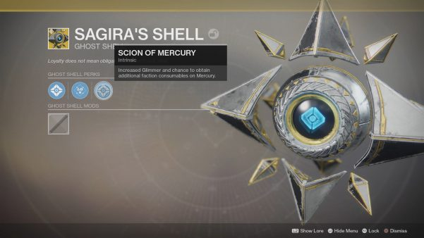 How To Get The Destiny 2 Curse Of Osiris Exotic Ghost Shell
