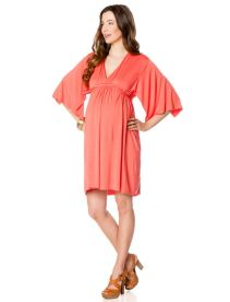 Rachel Pally 3/4 Sleeve Dolman Sleeve Maternity Dress