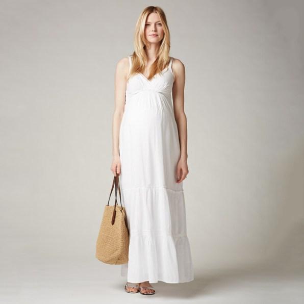 Seraphine Spaghetti Strap Lightweight Maternity Dress