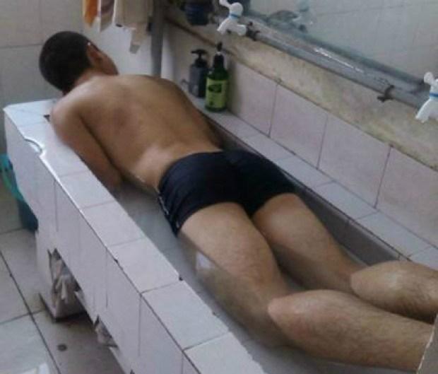 bano-en-el-lavabo