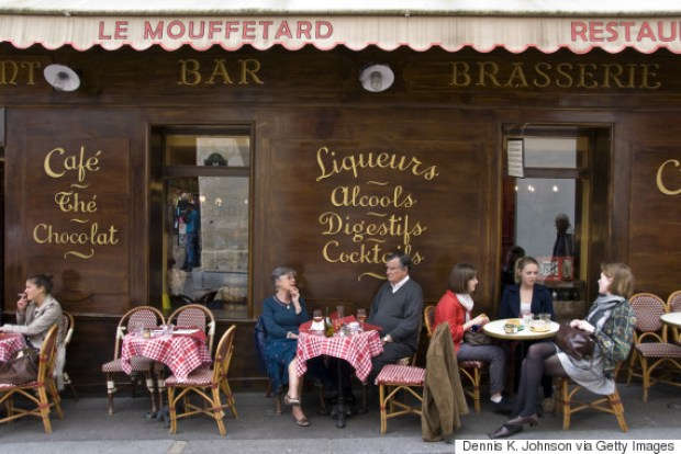 Cafe, Rue Mouffetard, Paris