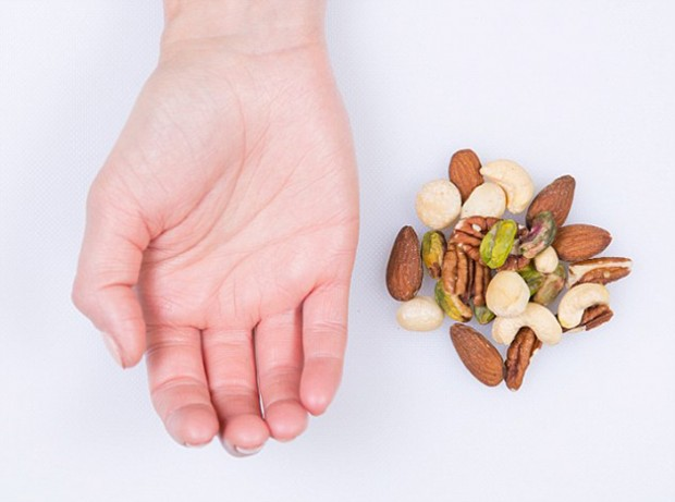 Mixed Nuts - feature on food portions