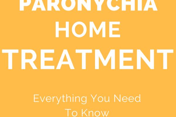 paronychia finger home treatment