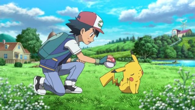 pokemon ash pikachu