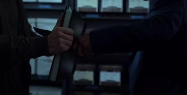 stabbing a book