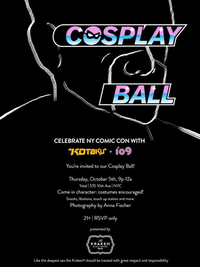 kotaku cosplay ball poster