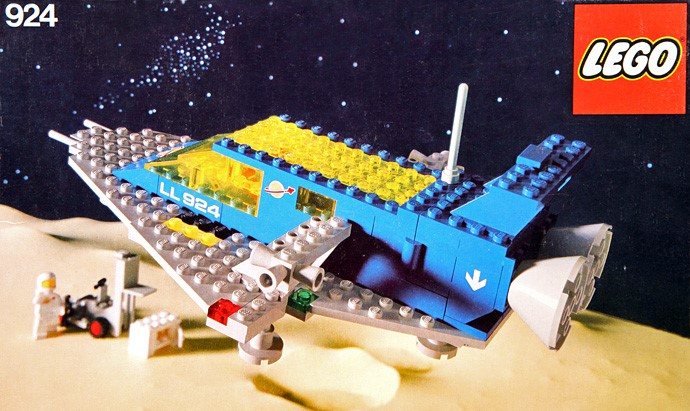 #RETROLEGO - Lego Space Transporter 924